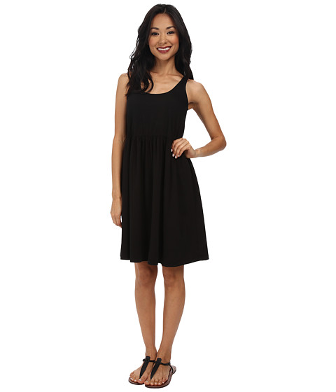 Allen Allen - Baby Doll Dress (Black) Women