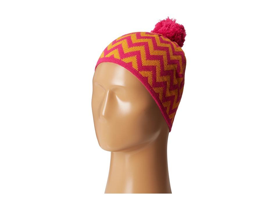 Vera Bradley - Pom Pom Knit Hat (Ziggy Zags) Knit Hats