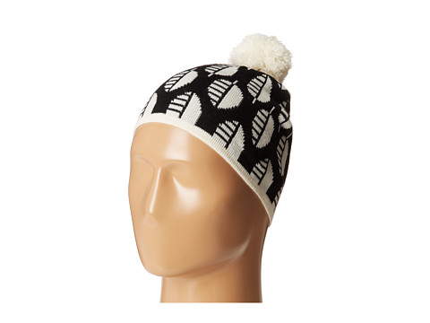 Vera Bradley - Pom Pom Knit Hat (Moon Drops) Knit Hats