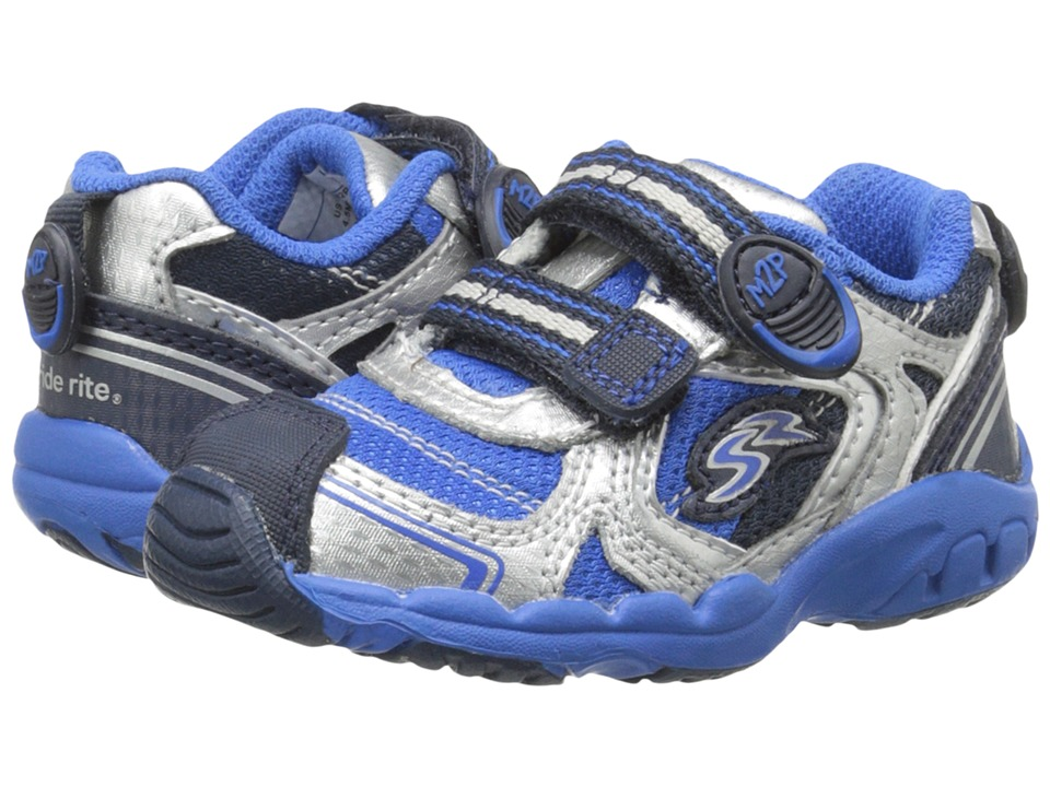 Stride Rite - M2P Baby Otis (Toddler) (Navy/Royal) Boys Shoes