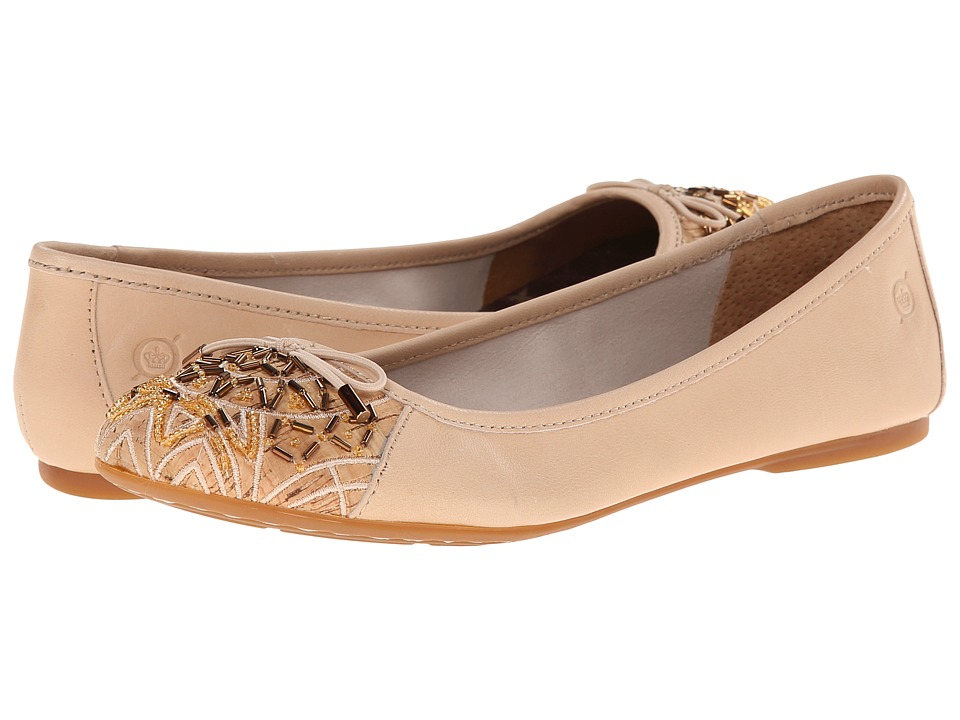 Born - Karmina (New Cipria (Light Pink) Nappa) Women's Flat Shoes