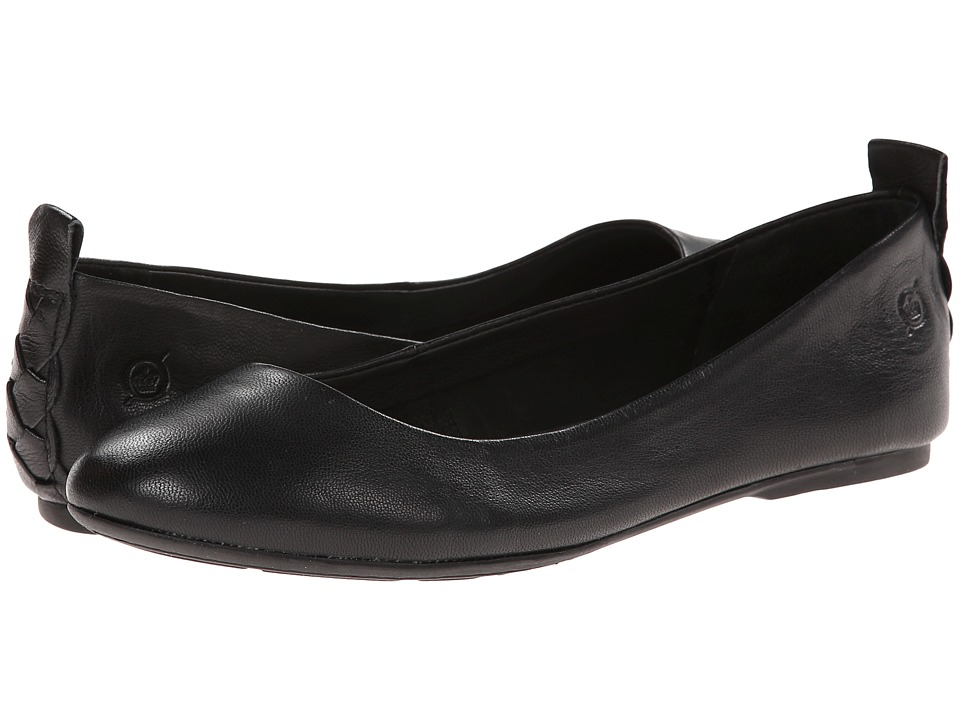 Born - Kady (Black Nappa Leather) Women's Flat Shoes