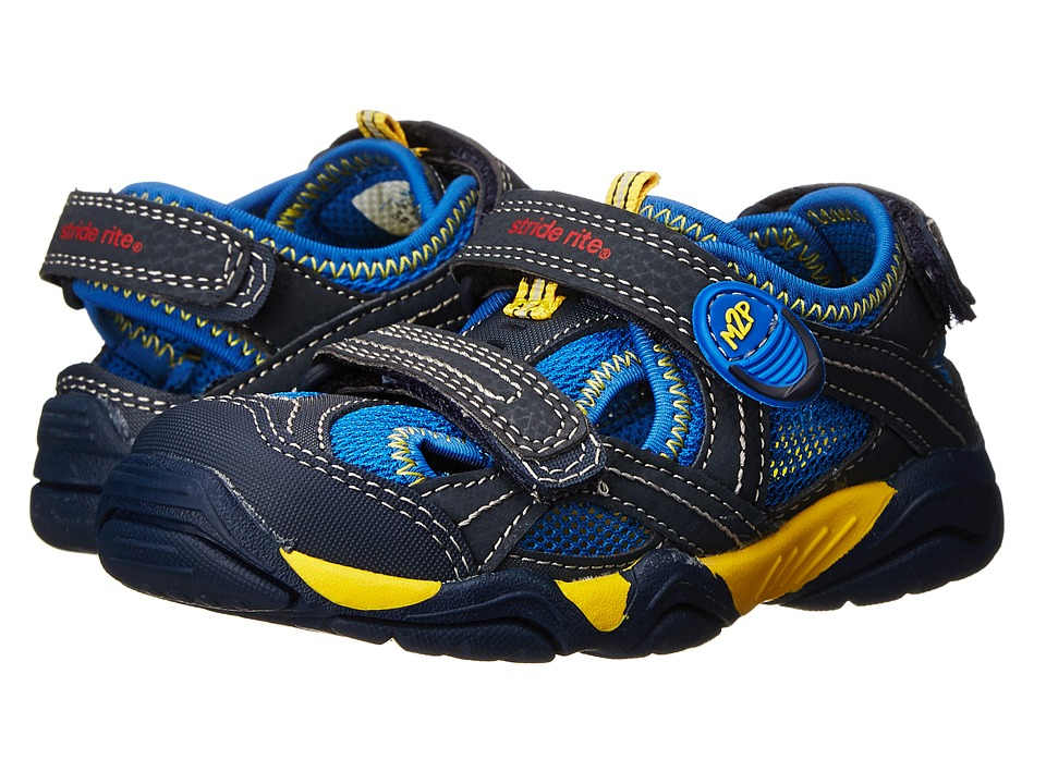 Stride Rite - M2P Soni (Toddler/Little Kid) (Navy) Boys Shoes