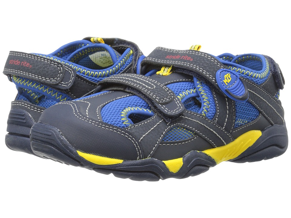 Stride Rite - M2P Soni (Little Kid) (Navy) Boys Shoes