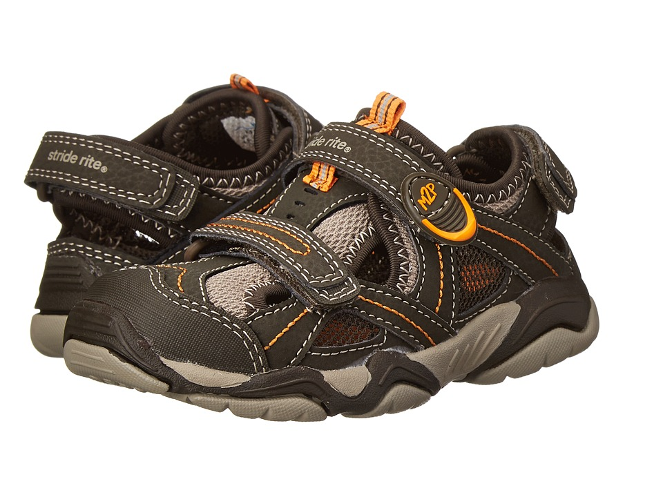 Stride Rite - M2P Soni (Toddler/Little Kid) (Cinder/Taupe) Boys Shoes