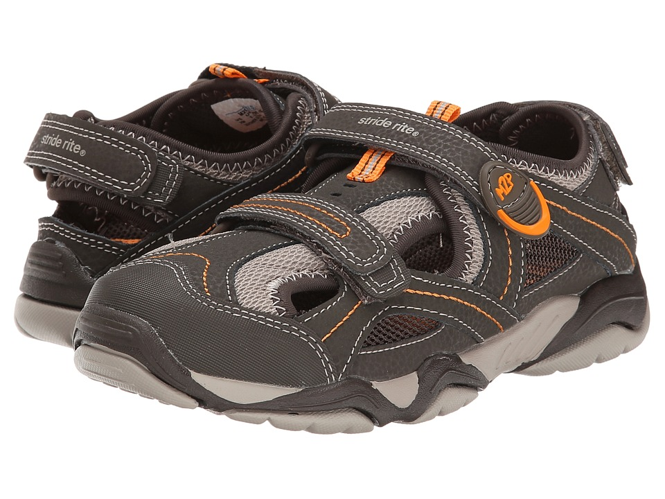 Stride Rite - M2P Soni (Little Kid) (Cinder/Taupe) Boys Shoes