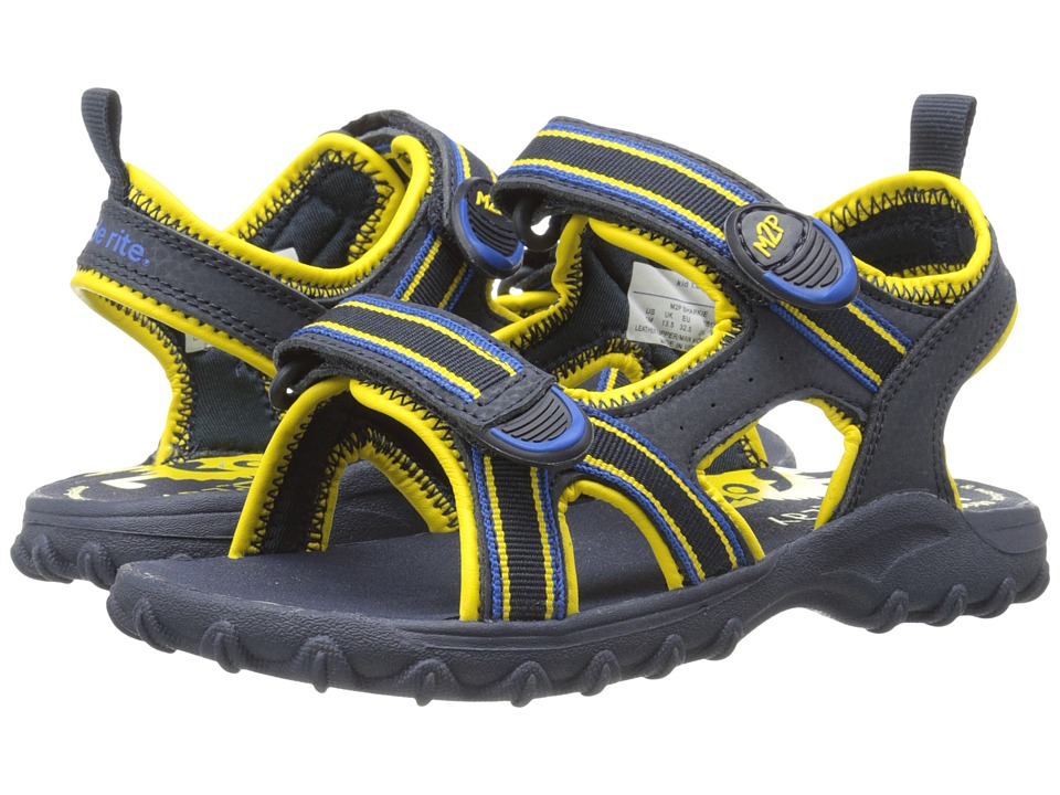 Stride Rite - M2P Sharkie (Toddler/Little Kid) (Navy/Yellow) Boys Shoes
