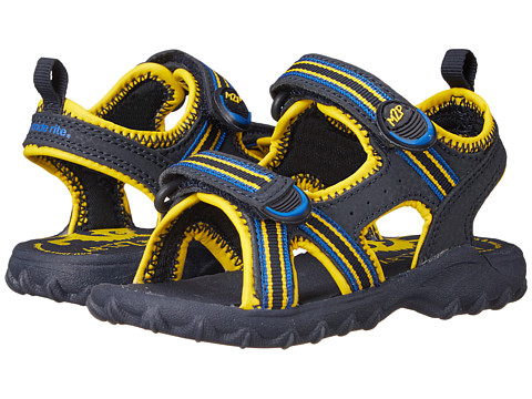 Stride Rite - M2P Sharkie (Toddler) (Navy/Yellow) Boys Shoes