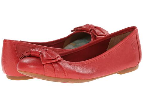 Born - Saffi (Cupido (Coral) Pearlized Full-Grain Leather) Women
