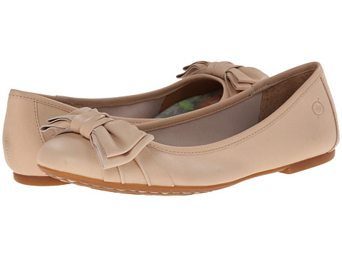 Born - Saffi (New Cipria (Light Pink) Nappa) Women's Flat Shoes