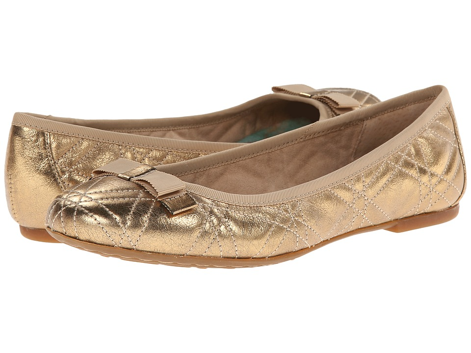 Born - Tiffney (Antique Gold Metallic) Women's Flat Shoes