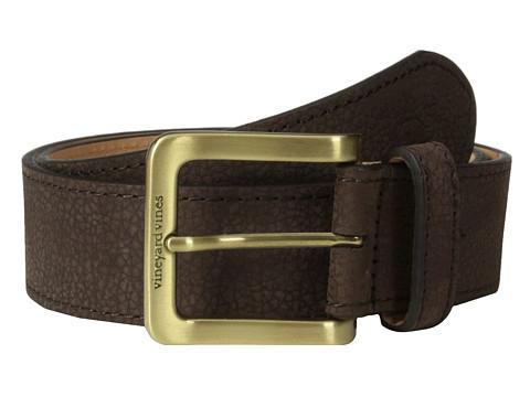 Vineyard Vines - Nubuc Tipped Belt (Brown) Men