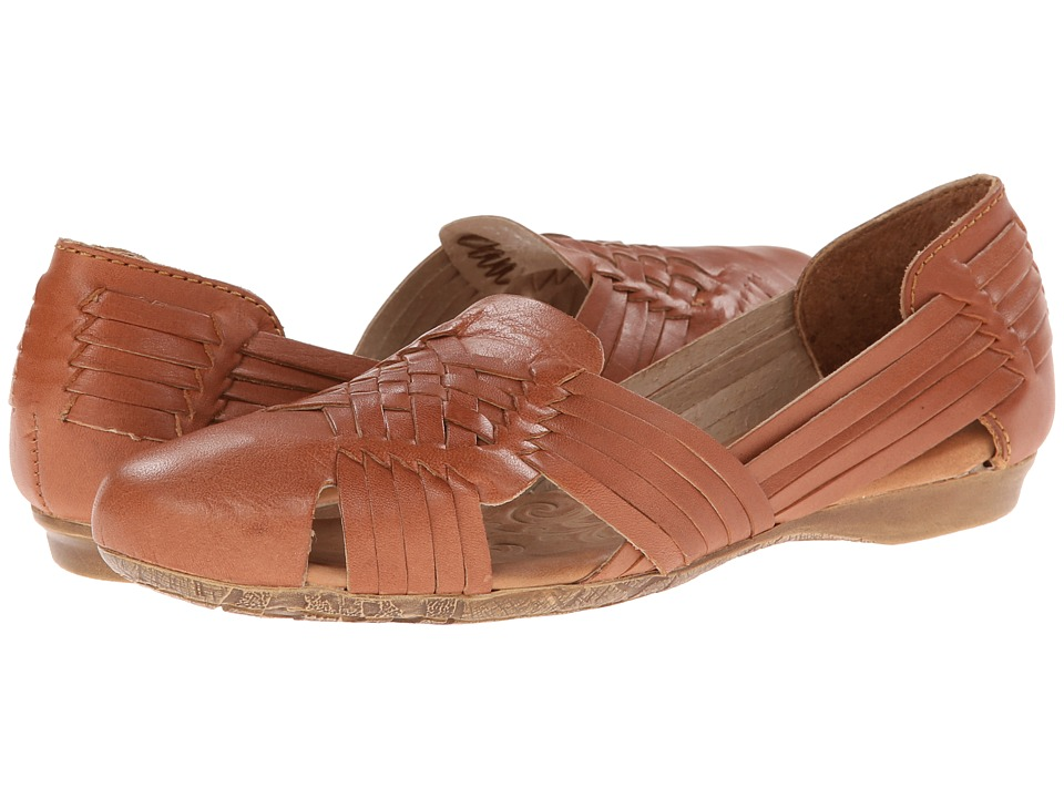 Born - Letitia (Tan Full-Grain Leather) Women's Flat Shoes