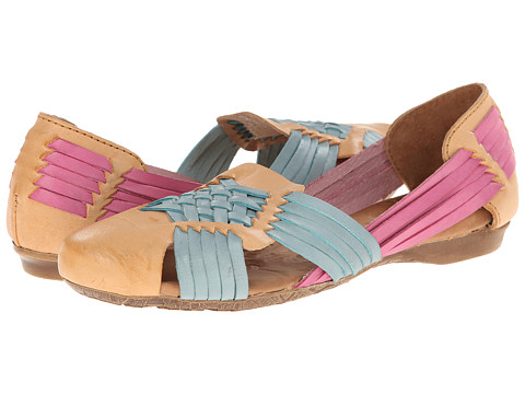 Born - Letitia (Miel (Natural)/Rosa (lt Pink)/Turquesa (Turquoise) Full-Grain Le) Women