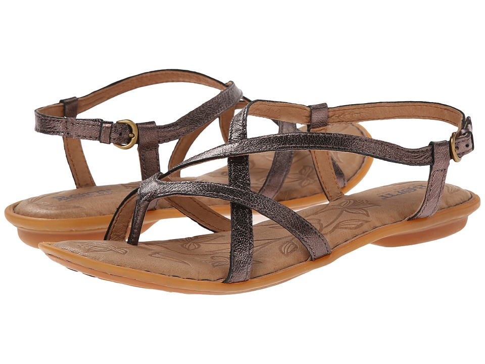 Born - Mai (Topo (Taupe) Metallic) Women's Sandals