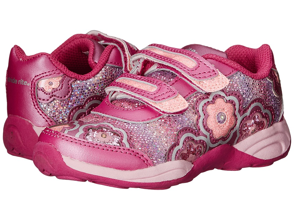 Stride Rite - SS Seashelle HL (Toddler) (Pink) Girls Shoes