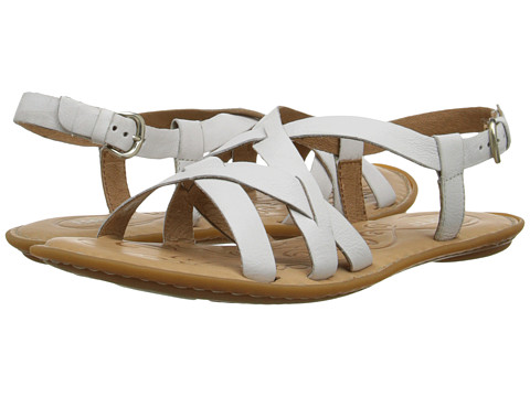 Born - Eryka (Bianco (White) Full-Grain Leather) Women's Sandals