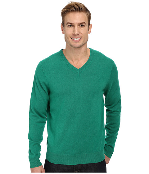 Vineyard Vines - Cashmere Blend V-Neck Sweater (Holly) Men