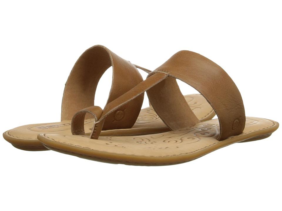 Born - Kristine (Golden Sand (Brown) Full-Grain Leather) Women