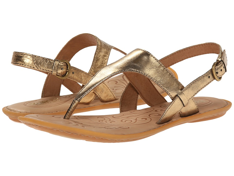 Born - Mariel (Antique Gold Metallic) Women's Sandals