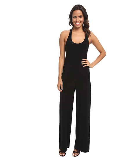 KAMALIKULTURE by Norma Kamali - Go Criss Cross Jumpsuit (Black) Women