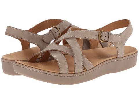 Born - Mahala (Mist (Light Grey) Full-Grain Leather) Women's Sandals