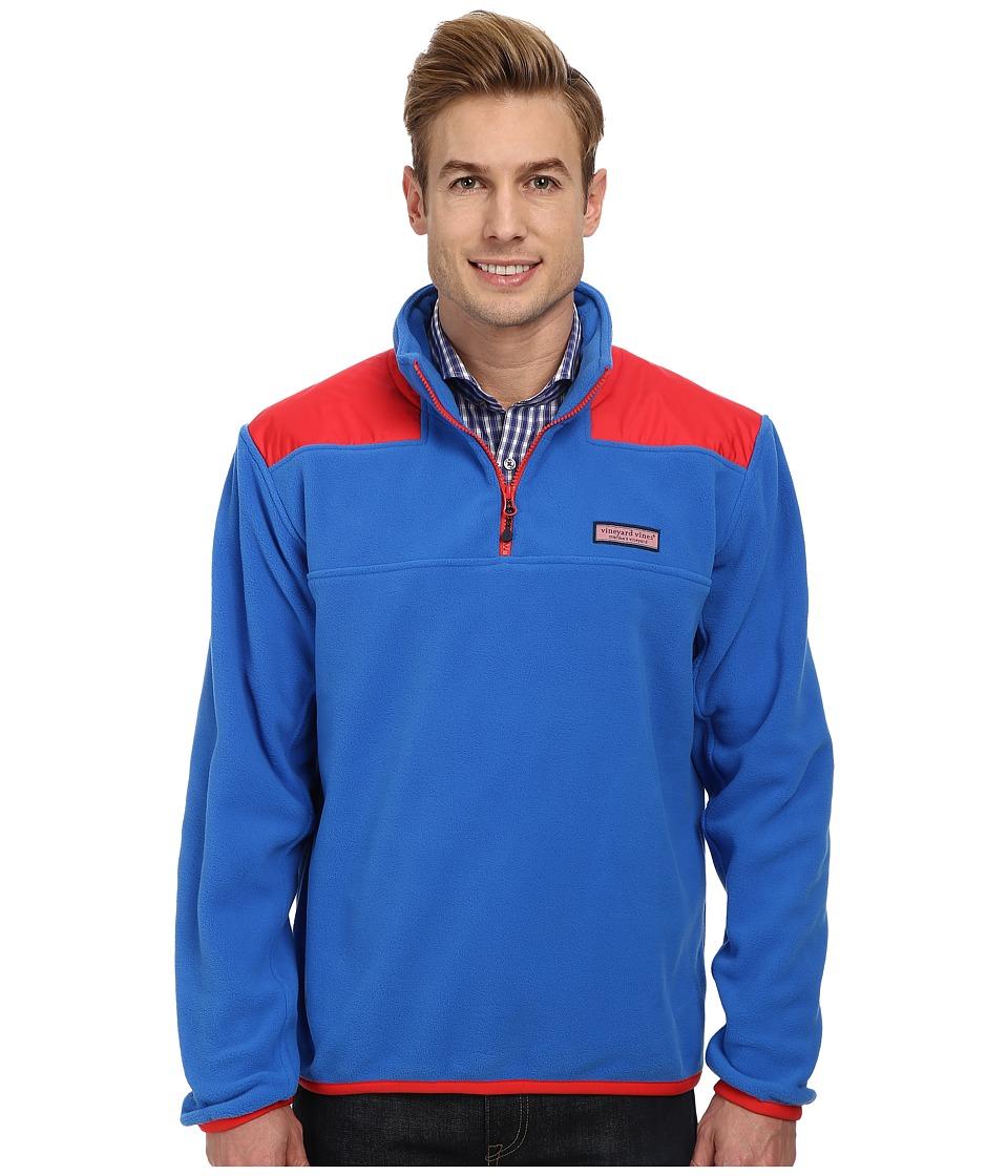 Vineyard Vines - Fleece Shep Shirt (Spinnaker) Men's Long Sleeve Pullover
