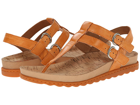 Born - Reta (Mango (Orange) Full-Grain Leather) Women's Sandals