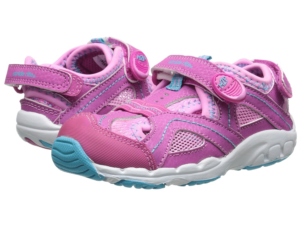 Stride Rite - M2P Baby Sandy (Toddler) (Pink) Girls Shoes