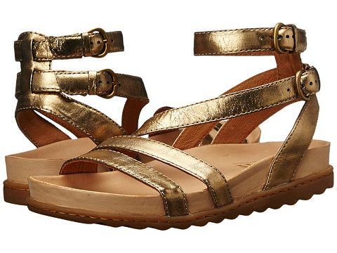 Born - Peera (Antique Gold Metallic) Women's Sandals