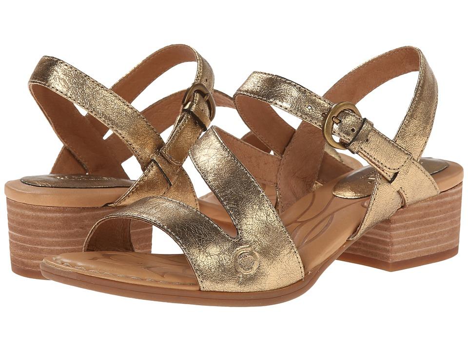 Born - Ellen (Antique Gold Metallic) High Heels