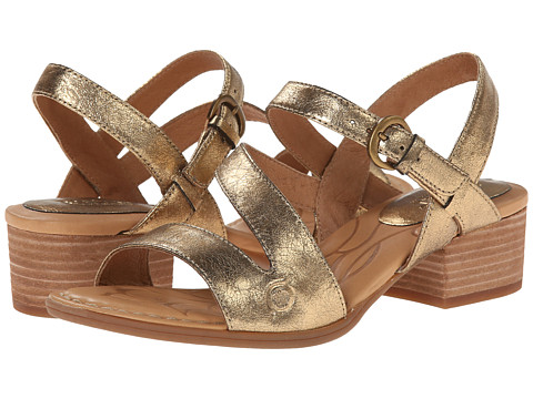 Born - Ellen (Antique Gold Metallic) High Heels