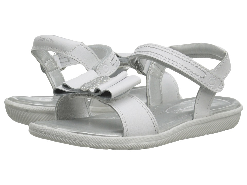 Stride Rite - Meena (Little Kid) (White) Girls Shoes