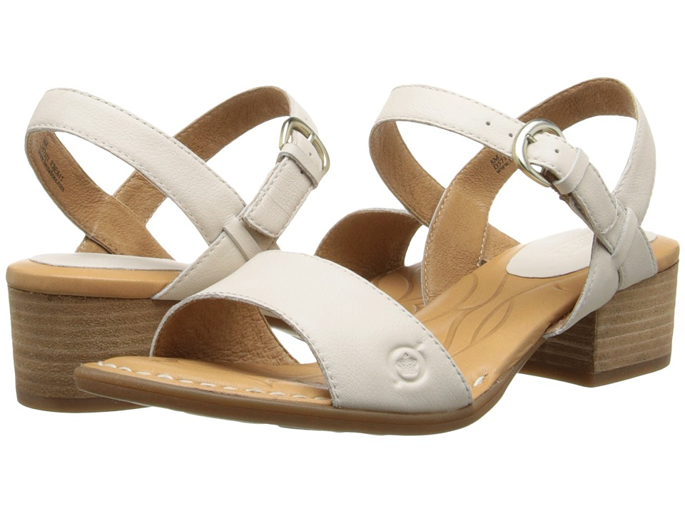 Born - Doree (Latte (Off White) Full-Grain Leather) High Heels