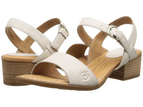 Born - Doree (Latte (Off White) Full-Grain Leather) High Heels
