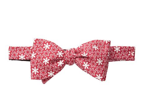Vineyard Vines - Printed Bow Tie - Snowflake (Red) Ties