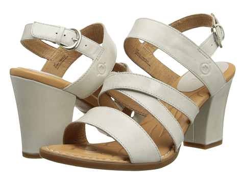 Born - Marylu (Ice (Off White) Full-Grain Leather) High Heels