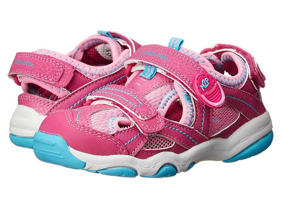 Stride Rite - M2P Sandy (Toddler/Little Kid) (Pink) Girls Shoes