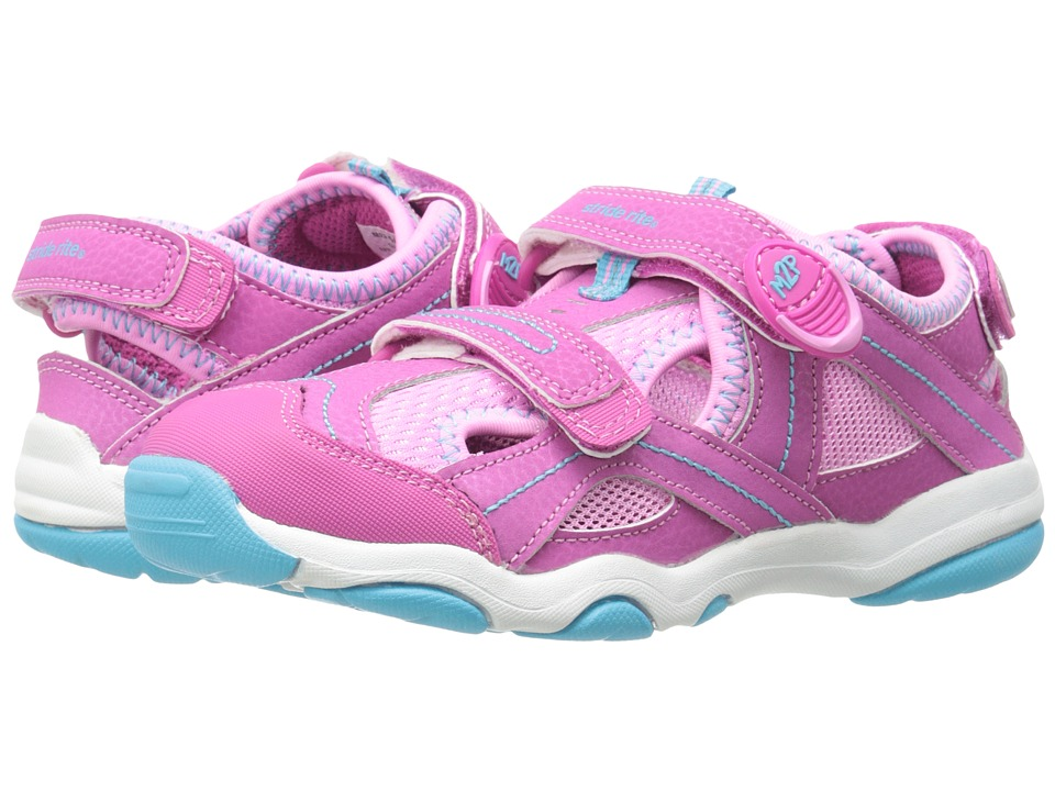 Stride Rite - M2P Sandy (Little Kid) (Pink) Girls Shoes