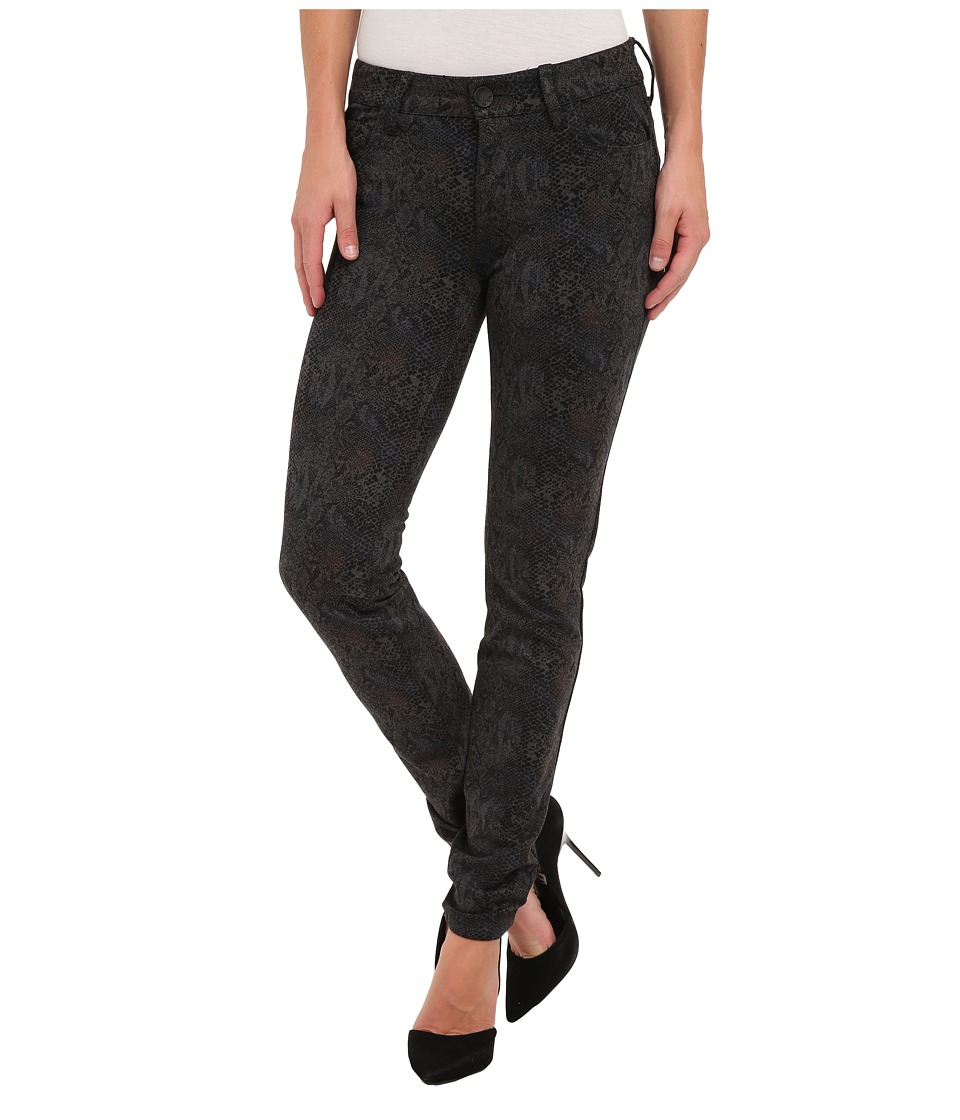 KUT from the Kloth - Diana Printed Skinny in Grey (Grey) Women's Casual Pants