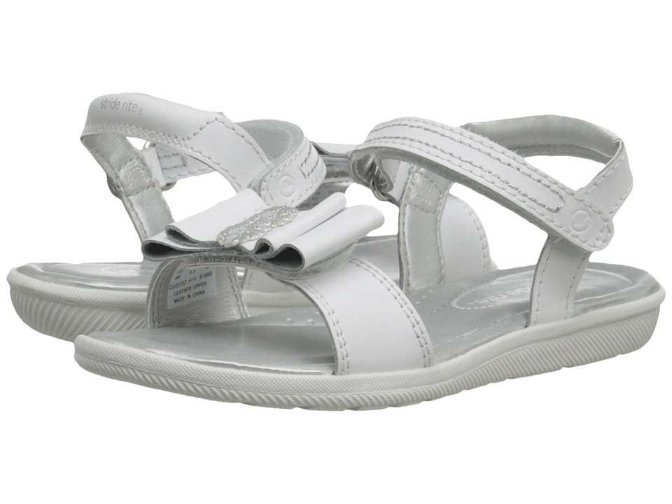 Stride Rite - Meena (Toddler/Little Kid) (White) Girls Shoes