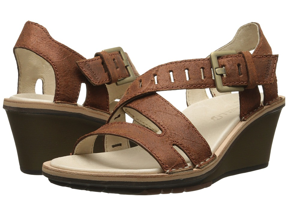 Merrell - Sirah Lattice (Prairie Brown) Women's Sandals