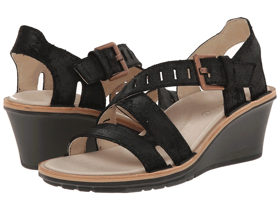 Merrell - Sirah Lattice (Black) Women's Sandals