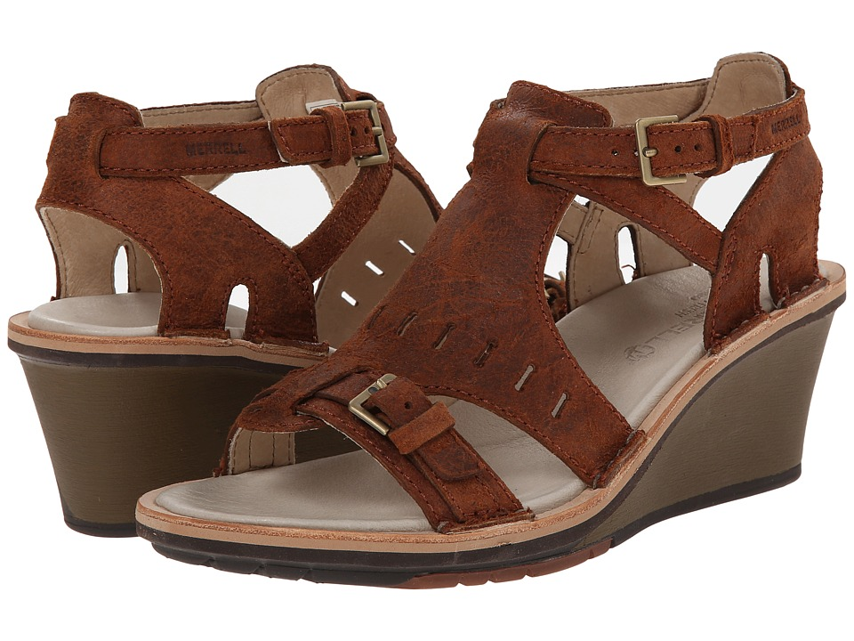 Merrell - Sirah Cloak (Prairie Brown) Women's Sandals