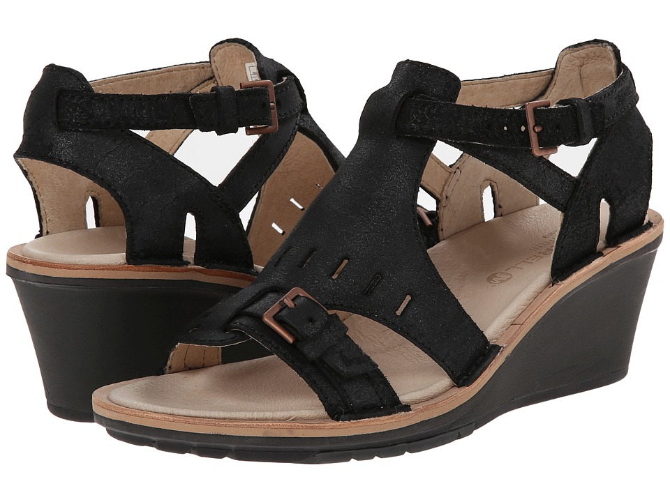 Merrell - Sirah Cloak (Black) Women's Sandals