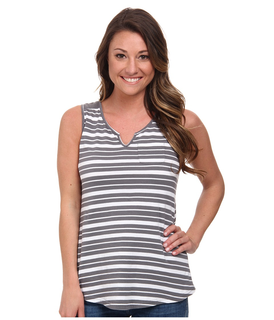 Aventura Clothing - Jessa Tank Top (Quiet Shade) Women's Sleeveless