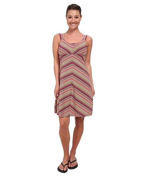 Royal Robbins - Essential Tencel Stripe Tank Dress (Raspberry) Women
