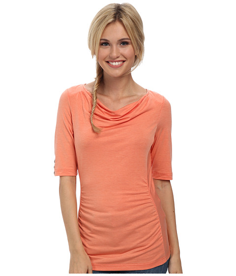 Royal Robbins - Essential Tencel Cowl Neck (Light Persimmon) Women's Clothing