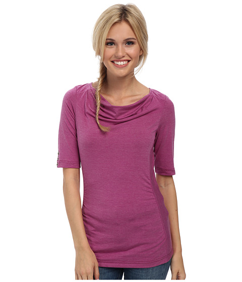 Royal Robbins - Essential Tencel Cowl Neck (Mulberry) Women's Clothing