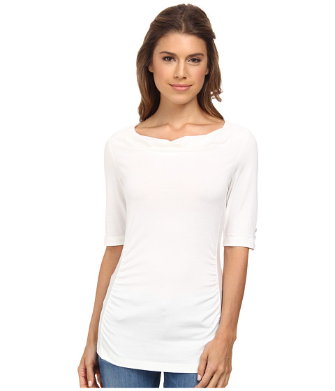 Royal Robbins - Essential Tencel Cowl Neck (Quartz) Women's Clothing